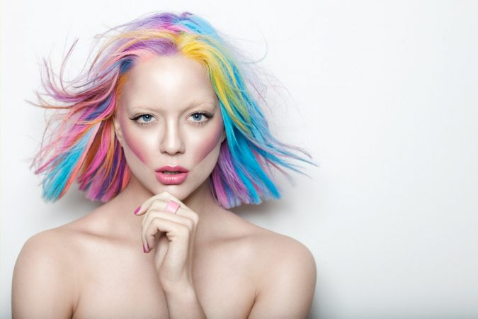 Beautiful-rainbow-hair